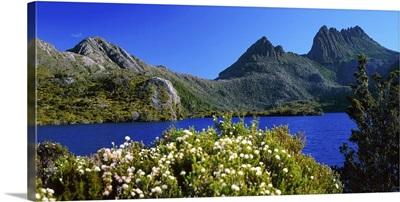 Australia, Tasmania, Lake Dove towards Cradle mountain