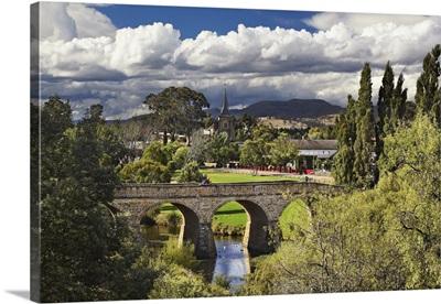 Australia, Tasmania, Richmond, Richmond Bridge