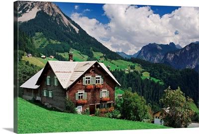 Austria, Vorarlberg, Grosse Walsertal