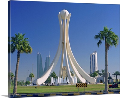 Bahrain, Al-Bahrayn, Manama, Pearl Monument