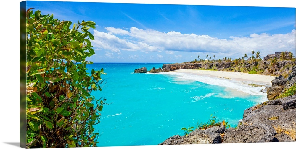 Barbados West Indies Harrismith Beach Located On The South East