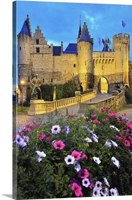 Belgium, Flanders, Benelux, Antwerp, The Steen castle