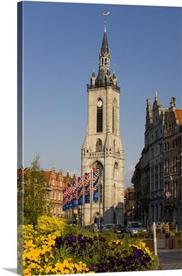Belgium, Wallonia, Route of Santiago de Compostela, Tournai, The Belfry
