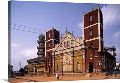 Benin, Oueme, Porto Novo, The big mosque