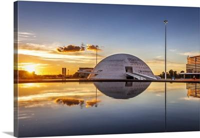 Brazil, National Museum by architect Oscar Niemeyer