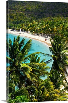 British Virgin Islands, Caribbean, Peter Island, Peter Island Resort, Deadman's beach