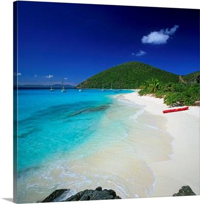 British Virgin Islands, Jost Van Dyke Island, White Bay