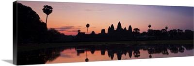 Cambodia, Siem Reap, Angkor, Dawn over Angkor Wat