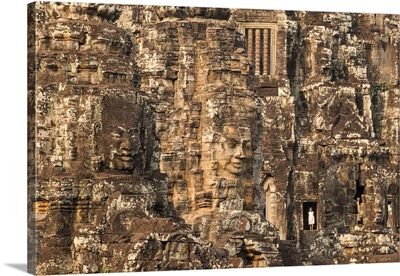 Cambodia, Siemreab, Angkor, The Bayon Temple