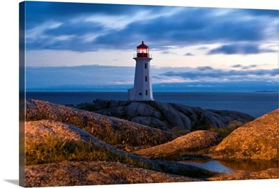 Canada, Nova Scotia, Lighthouse Route, Peggy's Cove