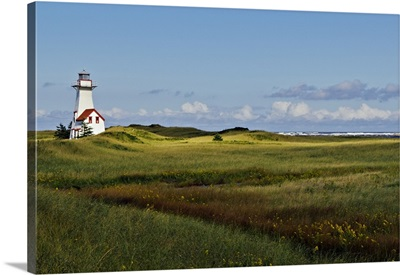 Canada, PEI, Prince Edward Island, New London, lighthouse