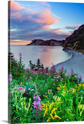 Canada, Quebec, Gaspe Peninsula, Forillon National Park