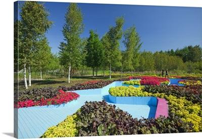 Canada, Quebec, Gaspe Peninsula, Grand Metis, the historic Reford Gardens