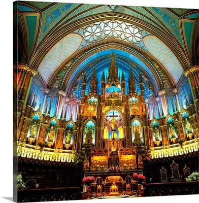 Canada, Quebec, Montreal, Notre Dame Cathedral