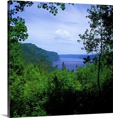 Canada, Quebec, Saguenay river, Anse de Tabatiere