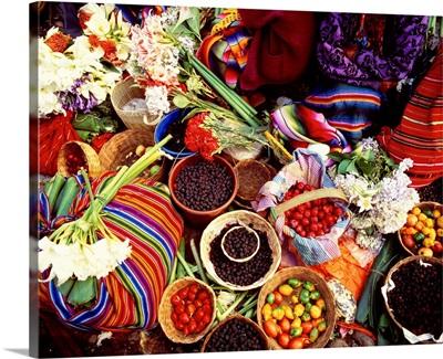 Central America, Guatemala, Chichicastenango, Thursday street market