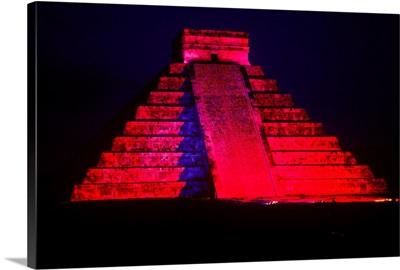 Central America, Mexico, Yucatan, Chichen Itza, El Castillo