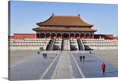 China, Beijing, Forbidden City, Hall of the Supreme Harmony