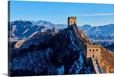 China, Hebei, Great Wall Of China, Gubeikou, Jinshanling And Simatai Section