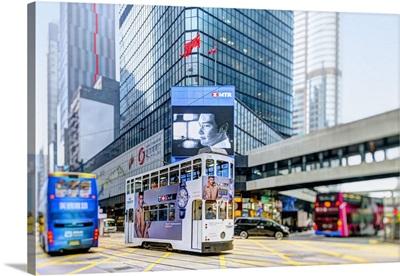 China, Hong Kong, Hong Kong island, Central, Des Voeux Road