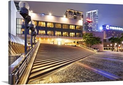 China, Hong Kong, Kowloon, Cultural Center