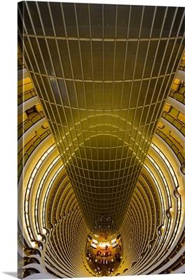 China, Shanghai, Pudong, Jin Mao Tower, Grand Hyatt Hotel