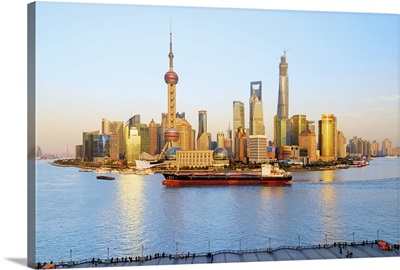 China, Shanghai, Pudong, Oriental Pearl Tower