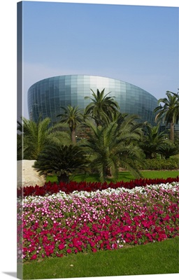 China, Shanghai, Pudong, Shanghai Oriental Art Center