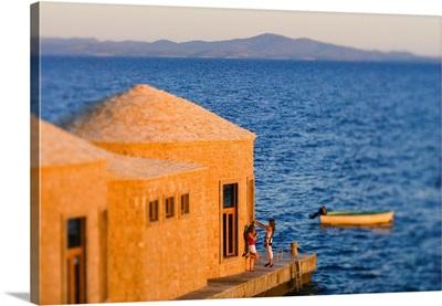 Croatia, Dalmatia, Hvar island, Zlatan Plenkovic's restaurant Bilo Idro, Sveta Nedjelja