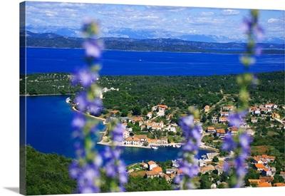 Croatia, Dalmatia, Kornati islands, Adriatic sea, Luka, view of the village