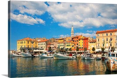 Croatia, Istria, Mediterranean area, Mediterranean sea, Adriatic Coast, Rovinj, Harbour