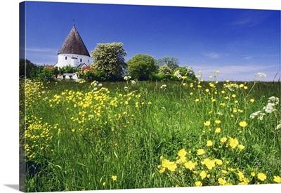 Denmark, Bornholm, Ronne, Scandinavia, osterlars Round Church