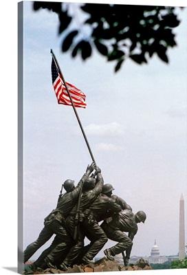 District of Columbia, Washington, Arlington National Cemetery, Iwo Jima Memorial