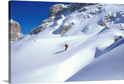 Dolomites, skiing