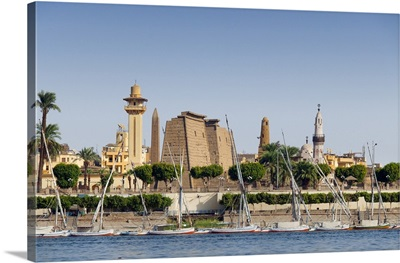 Egypt, Nile Valley, Nile, Luxor, Temple of Luxor