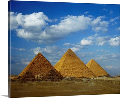 Egypt, North Africa, Cairo, The Great Pyramids