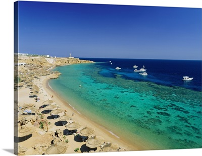 Egypt, North Africa, Red Sea, Sharm El Sheikh, Ras Um Sid beach
