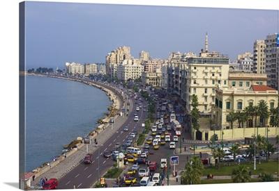 Egypt, North Coast, Alexandria, The Corniche