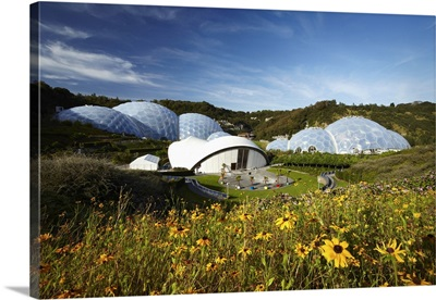 England, Great Britain, Cornwall, St Austell, The Eden Project