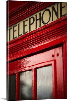 England, London, Telephone box