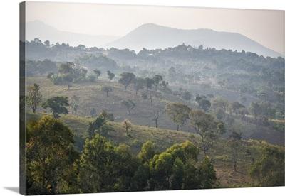 Ethiopia, Lower Valley of the Omo, Landscape near Jinka