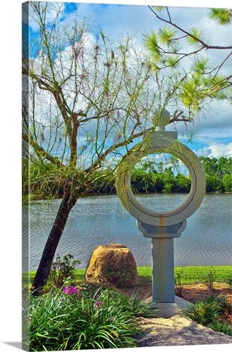 Florida, Delray Beach, Morikami Museum and Japanese Gardens Wall Art ...