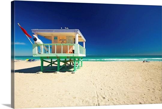 Florida Miami Beach Liuard Hut