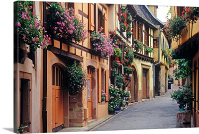 France, Alsace, Ribeauville town
