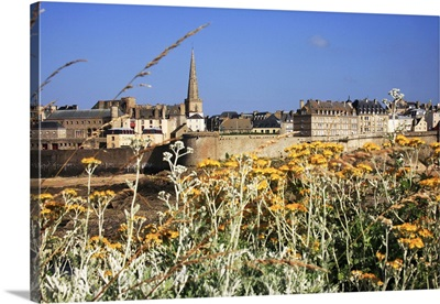 France, Brittany, Saint-Malo, Old city