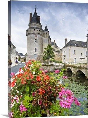 France, Centre, Langeais, Loire Valley, Indre-et-Loire, The Castle
