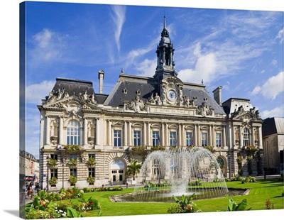 France, Centre, Tours, Loire Valley, Hotel de Ville