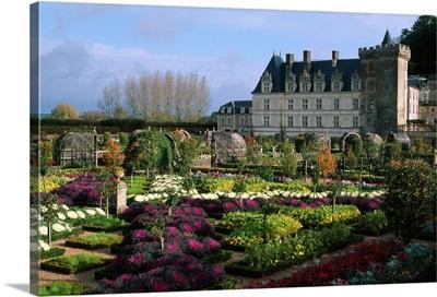 France, Centre, Villandry, The Castle