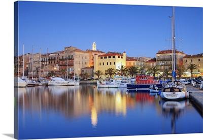 France, Corsica, Propriano, Mediterranean sea, Corse-du-Sud, The port