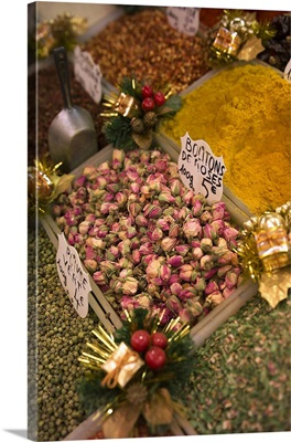 France, Cote d'Azur, Provence, Dried roses